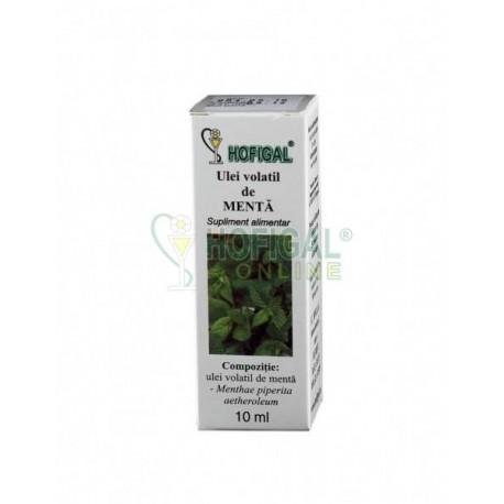Ulei volatil de menta - 10 ml