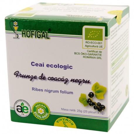 Ceai Ecologic - FRUNZE DE COACAZ NEGRU