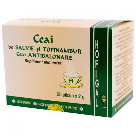 Ceai Antibalonare (salvie, topinambur)