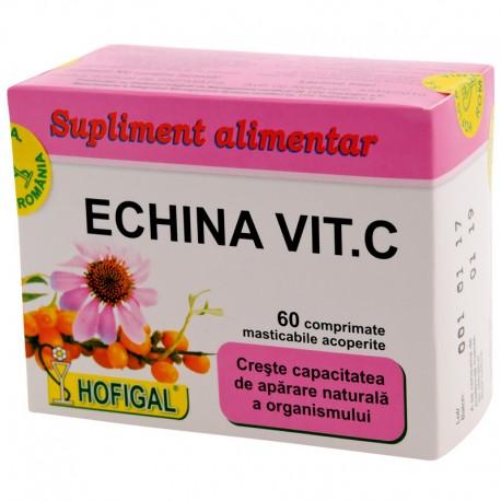 Echina Vit C 60 compr.