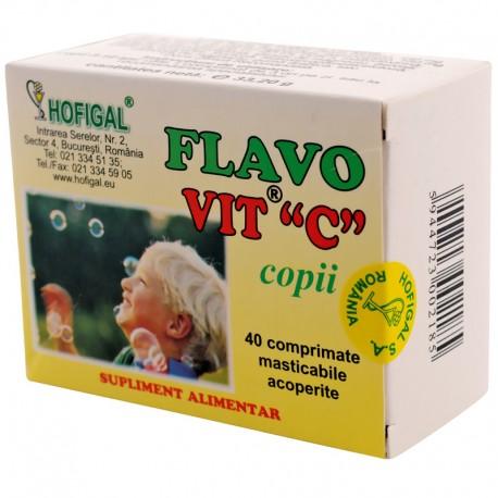 "Flavovit ""C"" pt. copii (compr. 200 mg)"