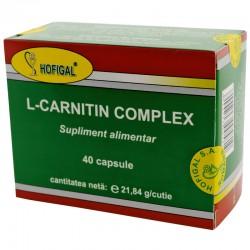 L-Carnitin complex 40 caps.