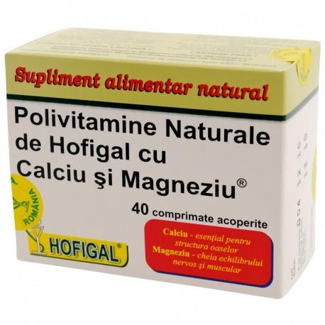 Polivitamine - naturale de Hofigal cu Ca si Mg