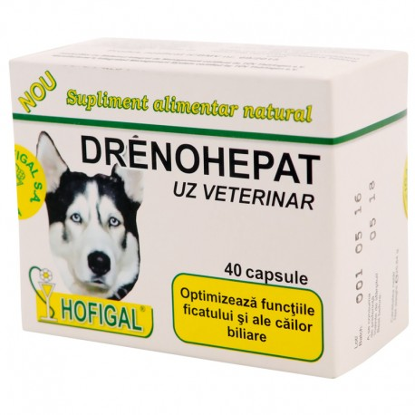 DRENOHEPAT  capsule  - uz veterinar